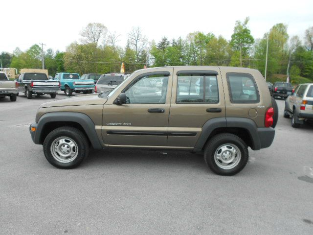 2002 JEEP LIBERTY SPORT 4DR 4WD SUV gold 16 inch wheels axle ratio - 410 cassette center cons