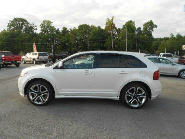 2011 FORD EDGE SPORT AWD 4DR SUV white 2-stage unlocking 4wd type - on demand abs - 4-wheel ai
