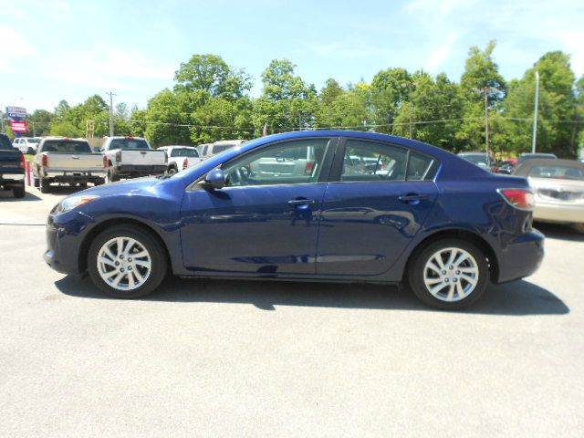 2012 MAZDA MAZDA3 I TOURING 4DR SEDAN 6A blue 2-stage unlocking - remote abs - 4-wheel active h