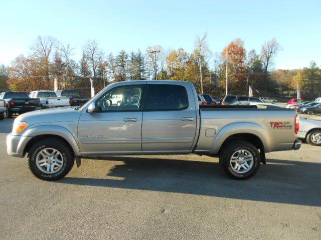 2006 TOYOTA TUNDRA SR5 4DR DOUBLE CAB 4WD SB 47L silver 4wd type - part time abs - 4-wheel an