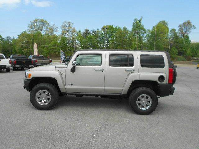 2009 HUMMER H3 H3X 4X4 4DR SUV silver 2-stage unlocking doors 4wd selector - electronic hi-lo 4