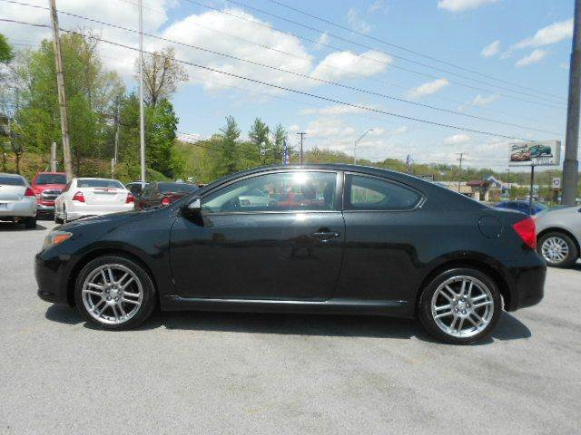 2006 SCION TC BASE 2DR HATCHBACK 24L I4 4A black abs - 4-wheel antenna type anti-theft syste