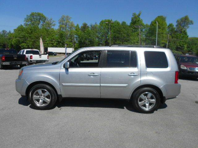 2010 HONDA PILOT EX-L 4X4 4DR SUV silver 4wd type - on demand abs - 4-wheel active head restrai