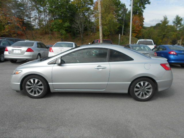 2009 HONDA CIVIC EX 2DR COUPE silver 2-stage unlocking - remote abs - 4-wheel active head restra