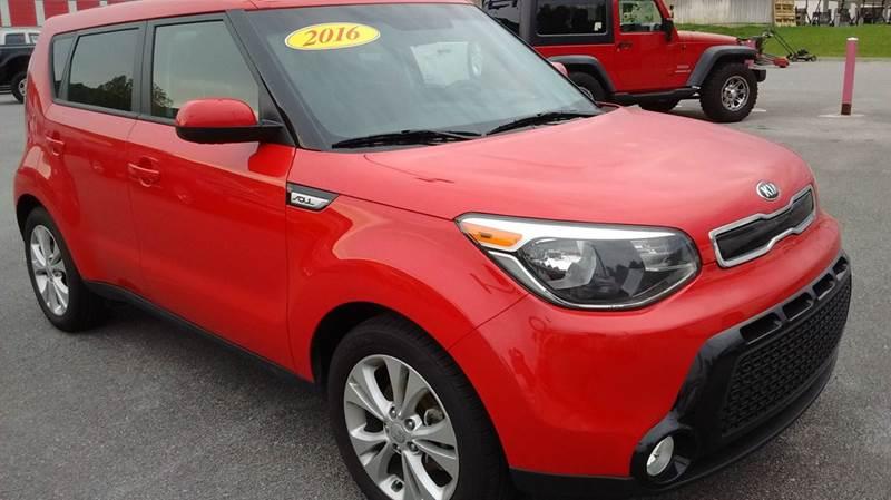 2016 Kia Soul + 4dr Wagon - Kingsport TN
