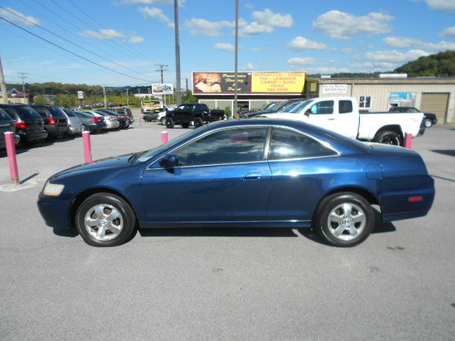 2002 HONDA ACCORD EX WLEATHER 2DR COUPE blue abs - 4-wheel anti-theft system - alarm cassette