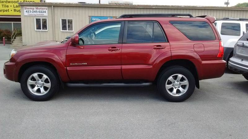 2006 TOYOTA 4RUNNER SPORT EDITION 4DR SUV 4WD WV6 burgandy 4wd selector - electronic 4wd type -