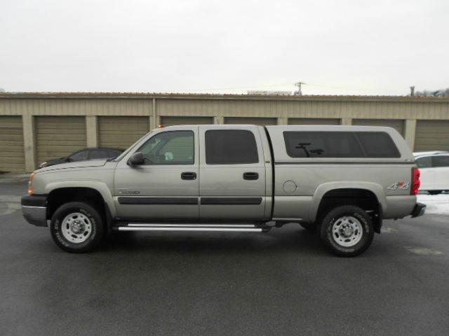 2003 CHEVROLET SILVERADO 2500HD LT 4DR CREW CAB 4WD SB silver abs - 4-wheel anti-theft system -