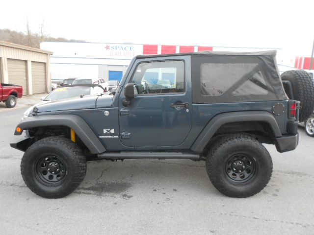 2008 JEEP WRANGLER X 4X4 SUV WSIDE AIRBAG PACKAGE blue 4wd type - part time abs - 4-wheel airba