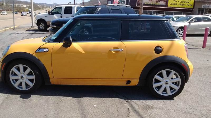 2007 MINI COOPER S 2DR HATCHBACK yellow 2-stage unlocking doors abs - 4-wheel air filtration a