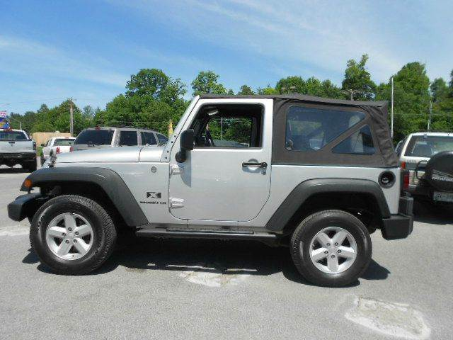 2008 JEEP WRANGLER X 4X4 SUV silver 4wd type - part time abs - 4-wheel airbag deactivation - oc