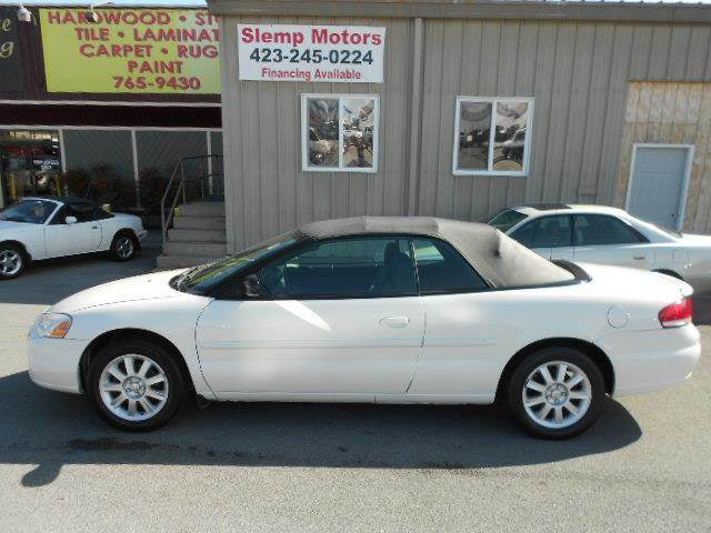 2005 CHRYSLER SEBRING GTC 2DR CONVERTIBLE white solid ride and handling characteristics large tr