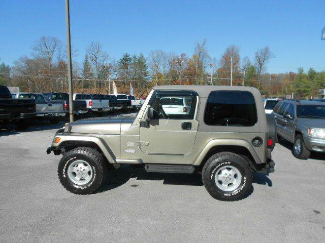 2003 jeep wrangler for sale in bloomington in. Cars Review. Best American Auto & Cars Review