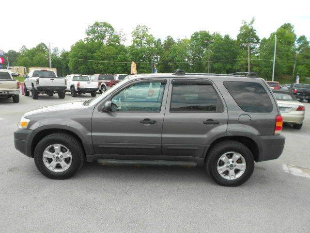 2005 FORD ESCAPE XLT AWD 4DR SUV gray abs - 4-wheel anti-theft system - alarm axle ratio - 293