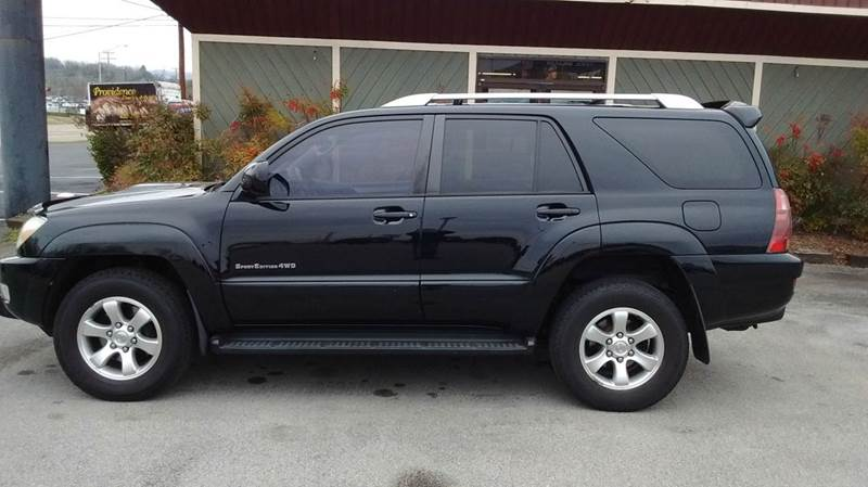 2005 TOYOTA 4RUNNER SPORT EDITION 4WD 4DR SUV black abs - 4-wheel axle ratio - 391 cassette c