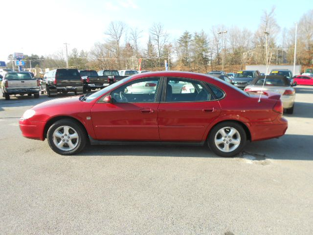 2001 FORD TAURUS SES 4DR SEDAN maroon abs - 4-wheel anti-theft system - alarm cassette clock c