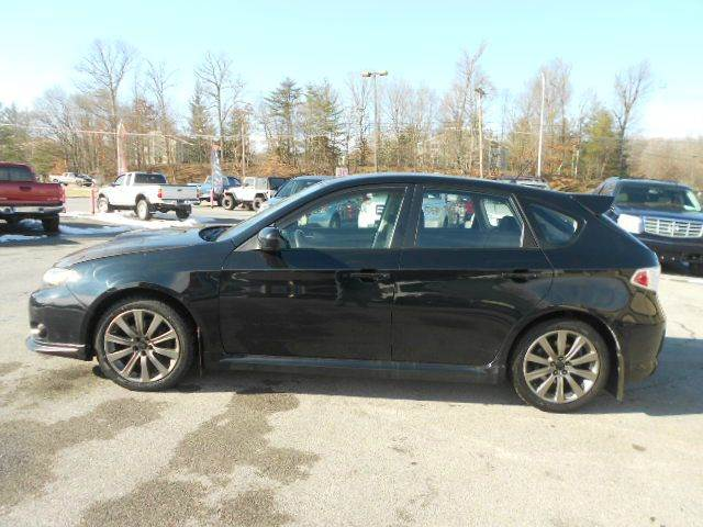 2009 SUBARU IMPREZA WRX AWD 4DR WAGON black 4wd type - full time abs - 4-wheel active head rest