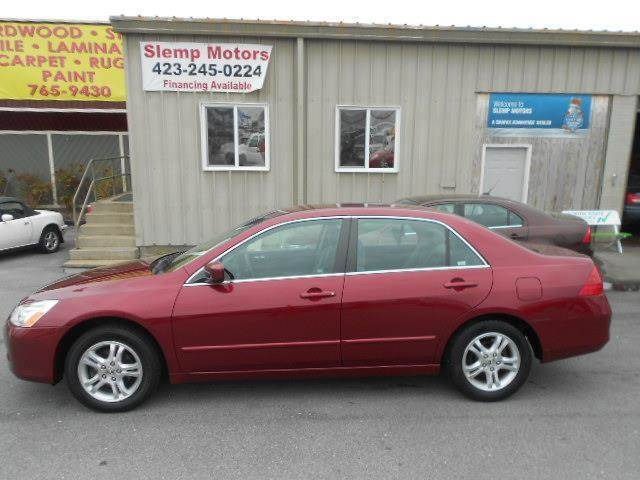 2006 HONDA ACCORD LX SPECIAL EDITION 4DR SEDAN maroon abs - 4-wheel air filtration antenna type
