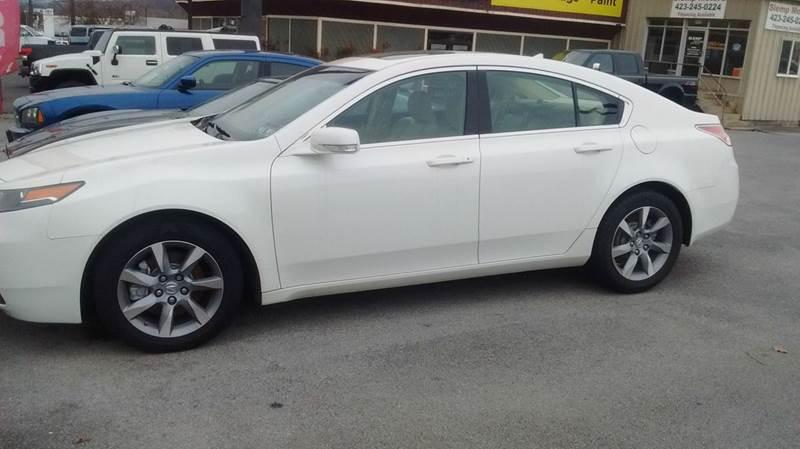 2012 Acura TL Base 4dr Sedan - Kingsport TN
