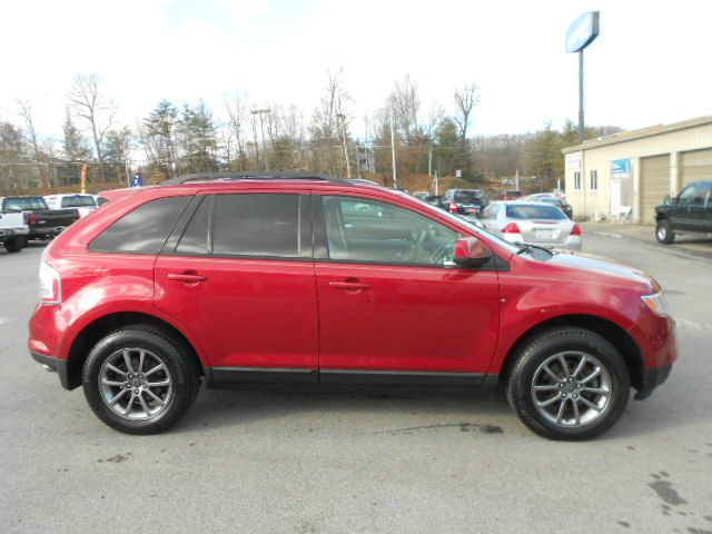 2008 FORD EDGE SEL AWD SUV red 2-stage unlocking - remote abs - 4-wheel airbag deactivation - o