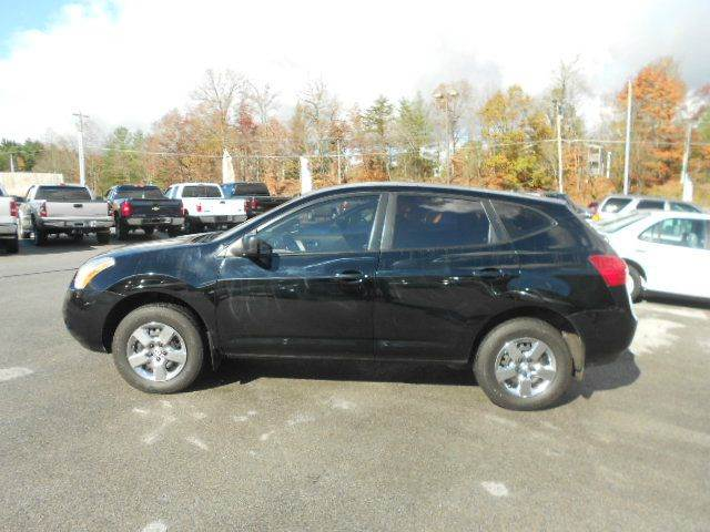 2009 NISSAN ROGUE S AWD CROSSOVER 4DR black 2-stage unlocking 4wd type - on demand abs - 4-whee
