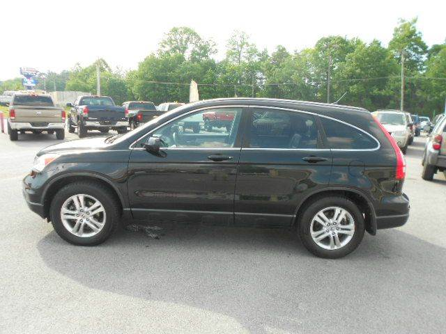 2010 HONDA CR-V EX-L AWD 4DR SUV black 2-stage unlocking doors 4wd type - on demand abs - 4-whe