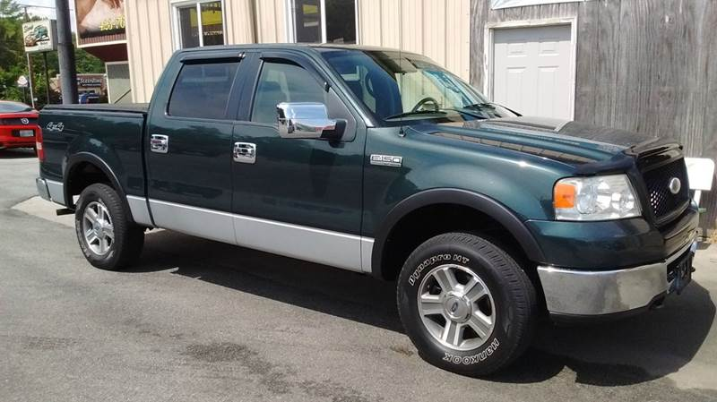2006 Ford F-150 XLT 4dr SuperCrew 4WD Styleside 5.5 ft. SB - Kingsport TN