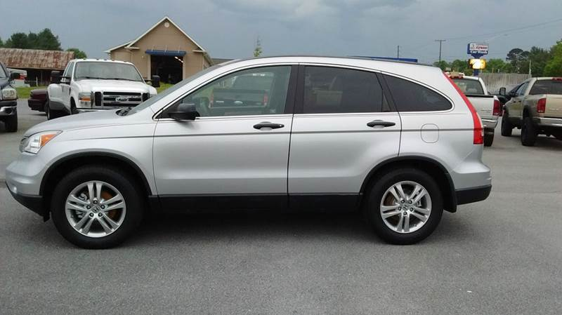 2010 HONDA CR-V EX AWD 4DR SUV silver 2-stage unlocking doors 4wd type - on demand abs - 4-whee
