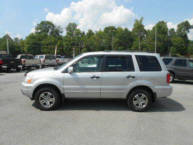 2003 HONDA PILOT EX 4WD 4DR SUV silver 4wd type - on demand abs - 4-wheel anti-theft system - a