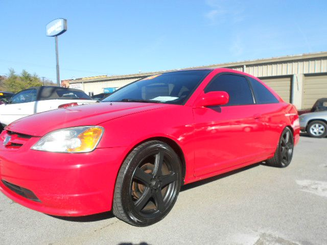 2002 HONDA CIVIC EX 2DR COUPE red abs - 4-wheel anti-theft system - alarm clock cruise control