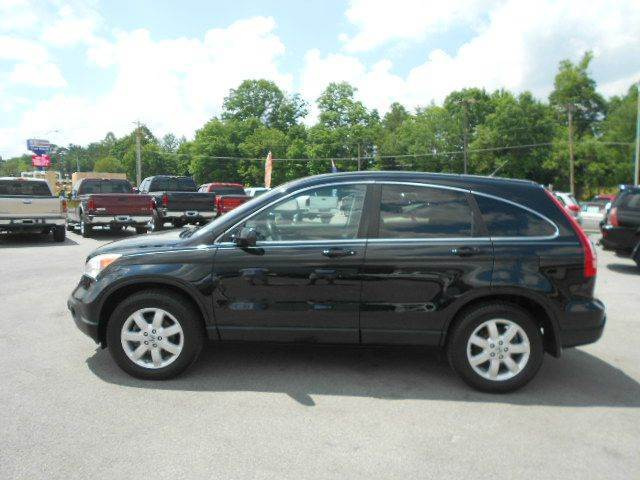 2008 HONDA CR-V EX-L AWD 4DR SUV black 2-stage unlocking - remote 4wd type - on demand abs - 4-
