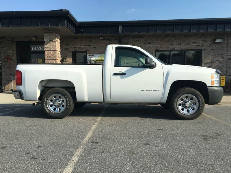2008 chevrolet silverado 1500 work truck 2wd in statesville nc southern truck and equipment. Black Bedroom Furniture Sets. Home Design Ideas