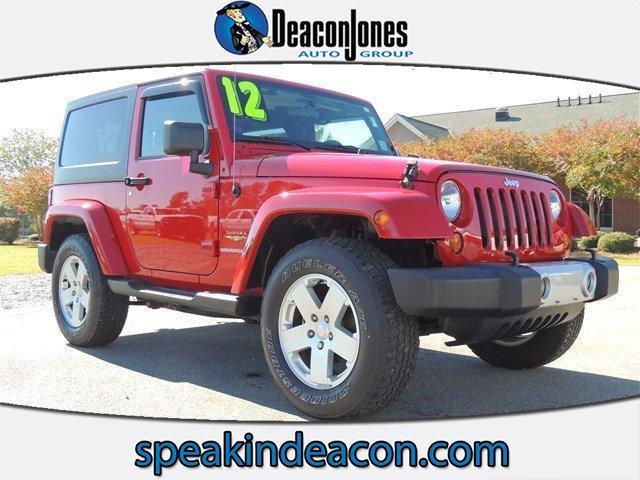 2012 jeep wrangler for sale in summerville sc. Black Bedroom Furniture Sets. Home Design Ideas