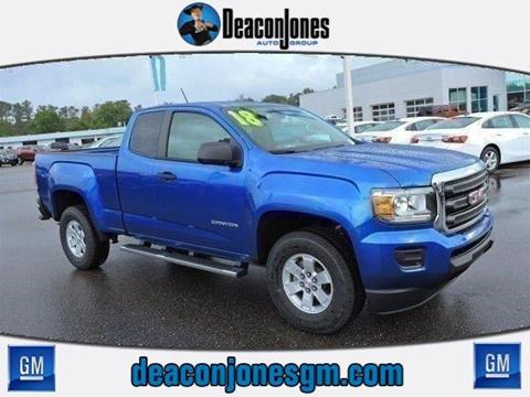 2018 GMC Canyon for sale in Smithfield, NC