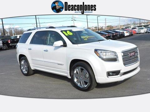 2016 GMC Acadia For Sale in North Carolina - Carsforsale.com