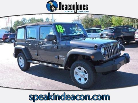 2018 Jeep Wrangler Unlimited for sale in Smithfield, NC