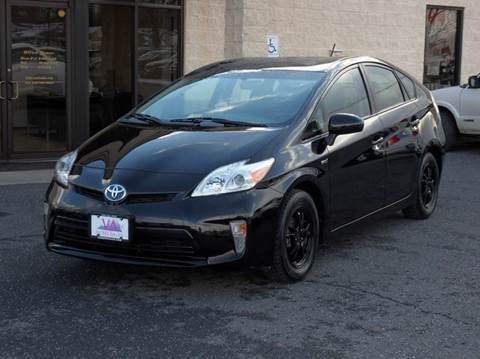 2013 toyota prius for sale virginia. Black Bedroom Furniture Sets. Home Design Ideas