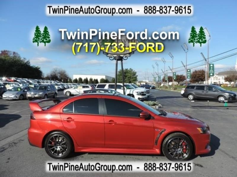 Twin Pine Auto Group >> 2015 Mitsubishi Lancer Evolution For Sale - Carsforsale.com