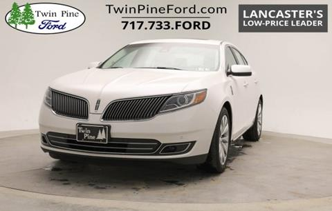 2014 Lincoln MKS for sale in Ephrata, PA