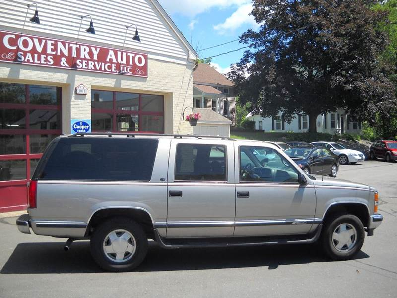 1999 Chevrolet Suburban K1500 LS 4dr 4WD SUV - Coventry CT