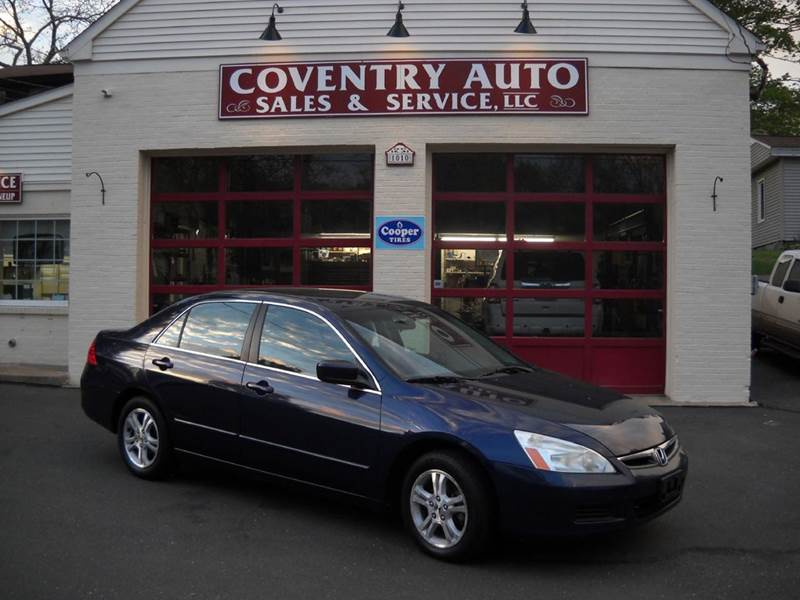 2006 Honda Accord LX Special Edition 4dr Sedan 5A - Coventry CT