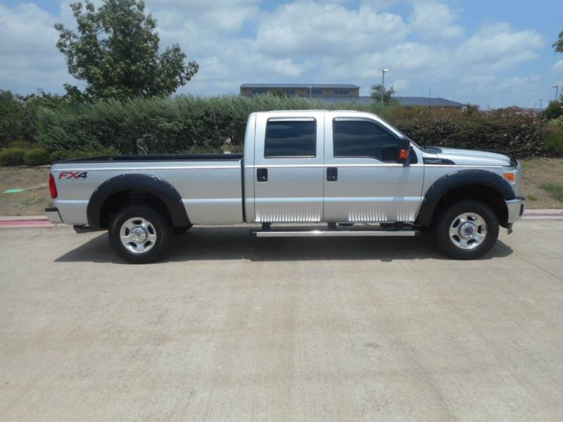2015 Ford F-250 Super Duty 4x4 XLT 4dr Crew Cab 8 ft. LB Pickup - Plano TX
