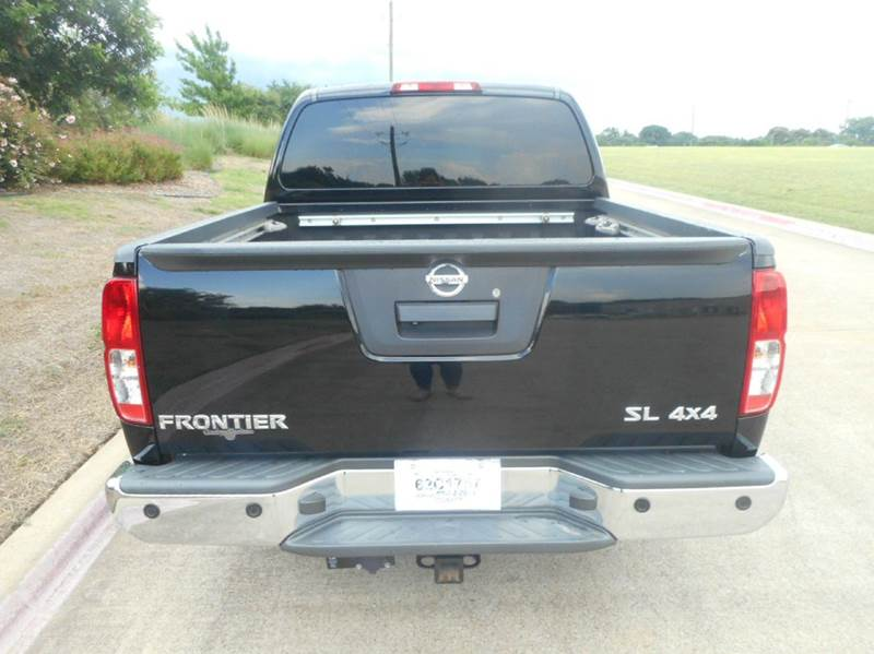 2013 Nissan Frontier 4x4 SL 4dr Crew Cab 5 ft. SB Pickup 5A - Plano TX