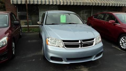 2013 Dodge Avenger for sale in Corry, PA