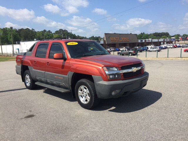 2002 Chevrolet Avalanche 4dr 1500 4WD Crew Cab SB - Fayetteville NC