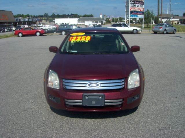 2007 Ford Fusion I-4 SE 4dr Sedan - Fayetteville NC