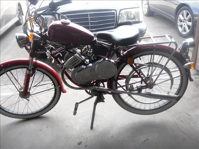 1957 BICYCLE & MOTORCYCLE Combination
