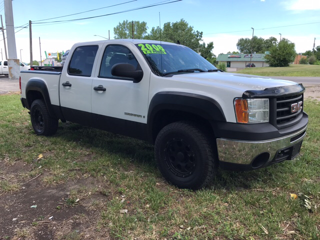 2008 GMC Sierra 1500 Work Truck 4WD 4dr Crew Cab 5.8 ft. SB - Independence MO