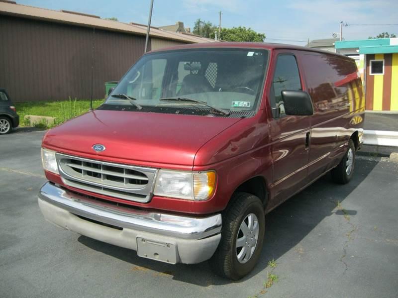 2001 Ford E-Series Cargo E-150 3dr Cargo Van - Kennett Square PA
