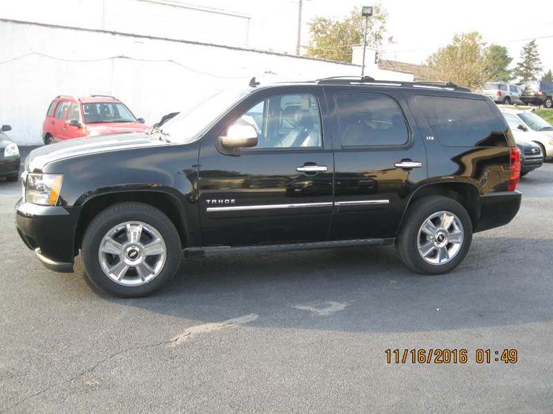 2010 chevrolet tahoe 4x4 ltz 4dr suv in kennett square pa. Black Bedroom Furniture Sets. Home Design Ideas
